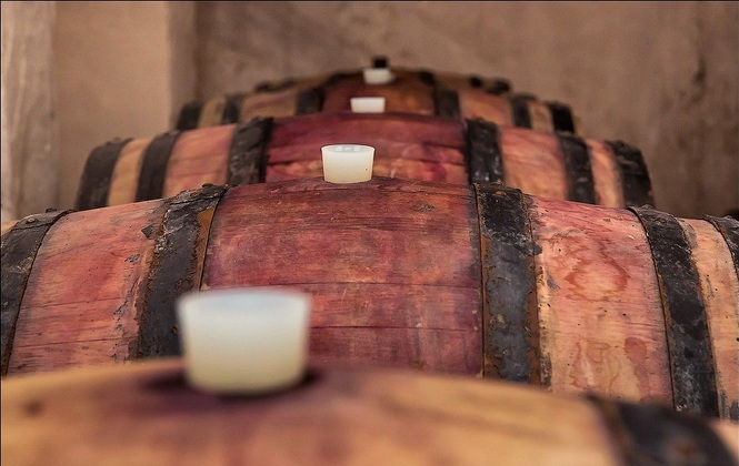 дубовые бочки для вина